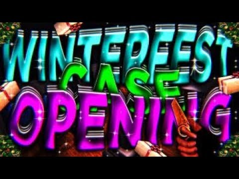 Critical Ops WinterFest Case Opening -- 20 cases