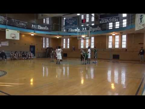 Bronx Science HS JV Basketball Playoff game Div A vs AA Lincoln 031515