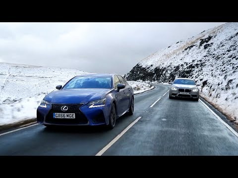 Lexus GS F vs BMW M5 | Chris Harris Drives | Top Gear