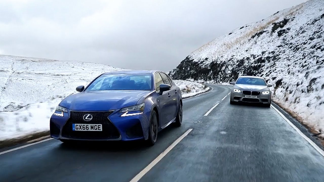 Lexus Gs F Vs Bmw M Chris Harris Drives Top Gear