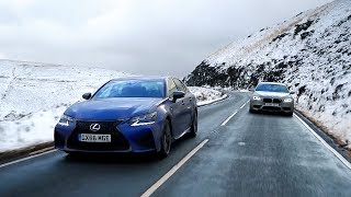 Lexus GS F vs BMW M5 - Chris Harris Drives - Top Gear