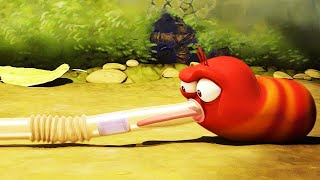 LARVA - LARVA VS THE STRAW | Cartoon Movie | Cartoons For Children | Larva Cartoon | LARVA Official