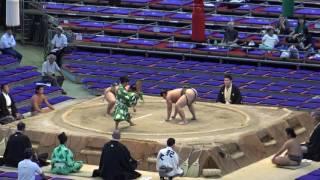 勝った方が勝ち越し/出羽の空-千代の天/2017.7.20/dewanosora-chiyonosora/day12 #sumo
