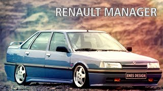 Renault Manager Virtual Car Tuning | Adobe Photoshop Cs6