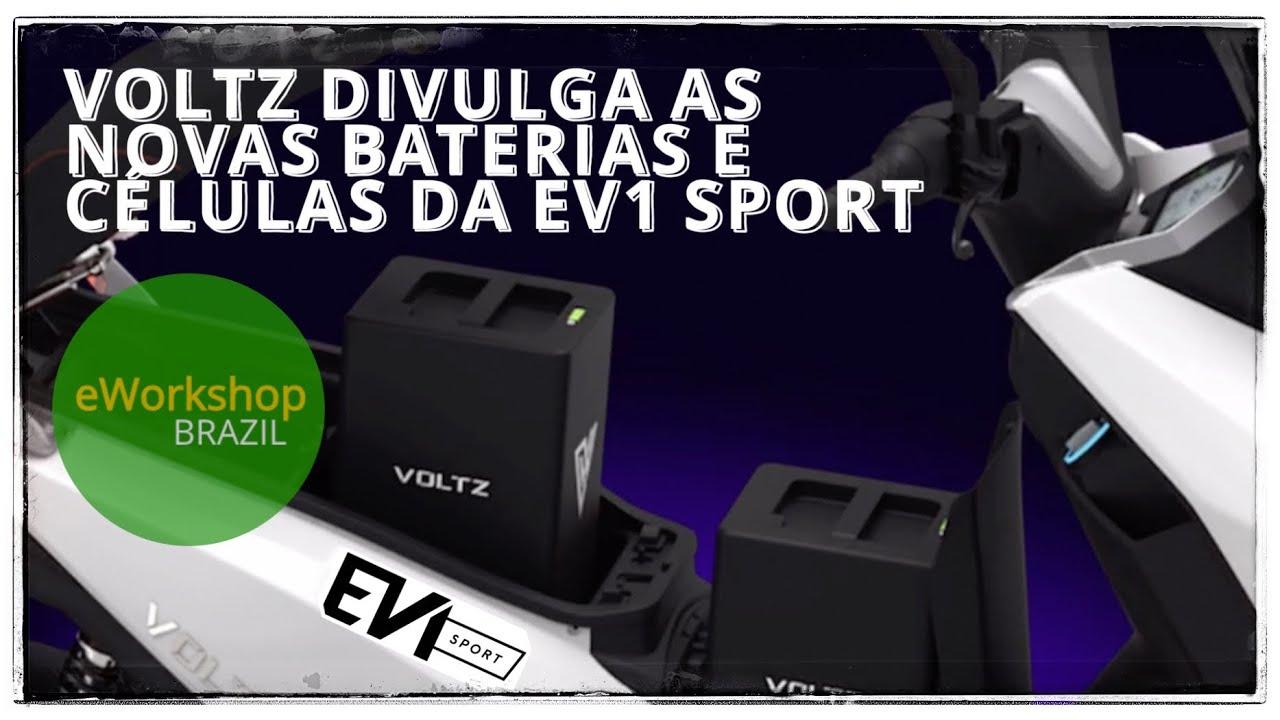 Voltz Divulga a Nova Bateria da EV1 Sport #Voltz #EV1 #SPORT