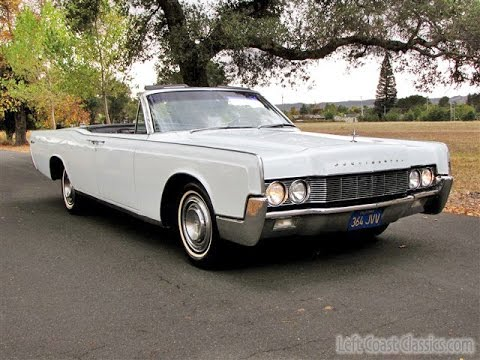 1967 Lincoln Continental Convertible for Sale - YouTube