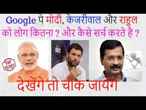 Modi Vs Arvind Kejriwal and Rahul Gandhi Social media analysis by Ranjeet digital marketing