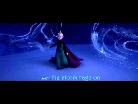 Frozen: Let it go - Suéltalo (English - Spanish) with Lyrics