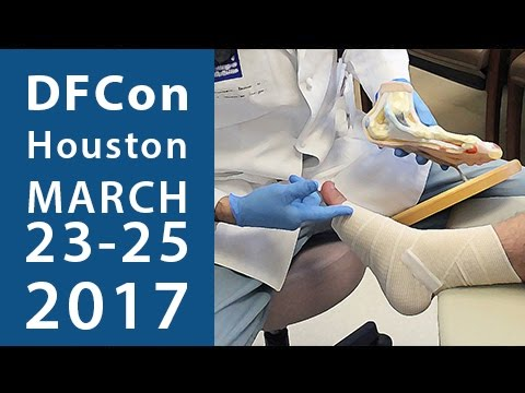 "Diabetic Foot Conference ""DFCon"" Houston, TX March 23, 2017 Promo"