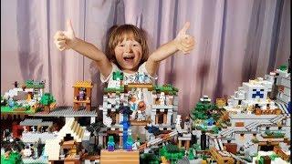 МИР МАЙНКРАФТ / MINECRAFT WORLD / САМОДЕЛКА LEGO / МОЯ КОЛЛЕКЦИЯ ЖИВОТНЫХ