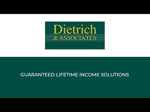 Webinar: Guaranteed Lifetime Income Solutions