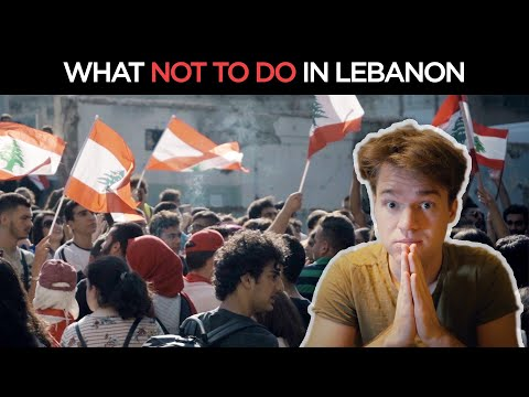 10 Things NOT to do in LEBANON