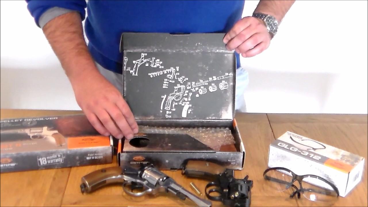 Sportsguns review the Gletcher Nagant Air Pistol