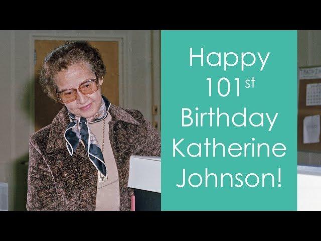 NASA Honors Space Mathematician Katherine Johnson on her 101st Birthday