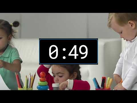 2 Minute timer - Countdown for KIDS with music