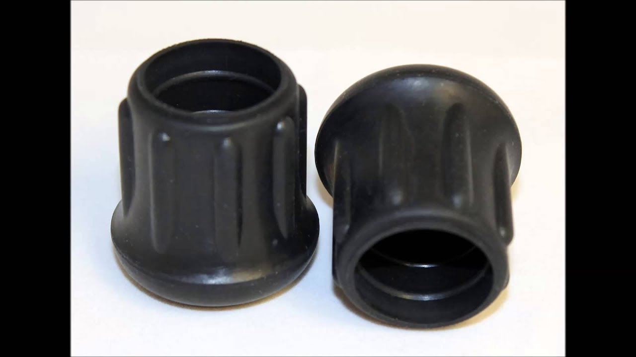 Rubber Chair Foot Caps for Folding Chairs  YouTube