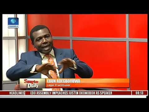 APC Has Lost The Moral Right To Retain Power-- Adegboruwa Pt.3 l Sunrise Daily l