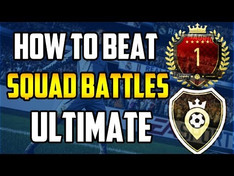 HOW TO BEAT ULTIMATE SQUAD BATTLES! PLAY LIKE A PRO FIFA PLAYER