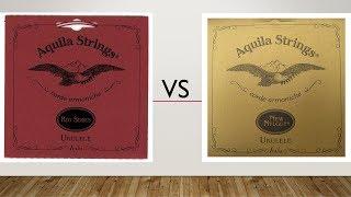 Comparação de cordas Low G - Aquila Red Series x Aquila New Nylgut