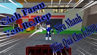 ROBLOX | How to Farm RC, Yen, Level, Rep, fast in Ro Ghoul for Level 750 or higher | HYV Virus