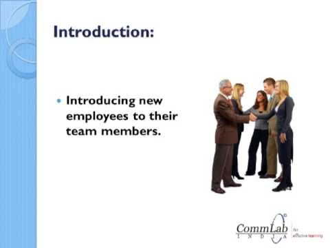 Checklist for New Employee Induction Program - YouTube - Employee Presentations