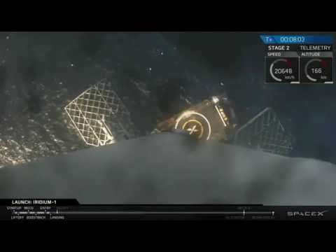 SpaceX Nails 1st Stage Landing Again In Return To Flight | Video