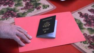 DIY RFID Proof Passport Sleeve