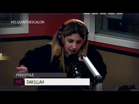 DAKILLAH LA ROMPE CON TREMENDO FREE - El Quinto Escalon Radio (28/9/17)