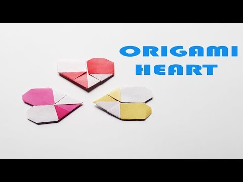 How To Make an Easy DIY Paper Heart | Informal Origami Heart Ever!