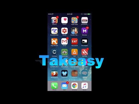 Takeasy iOS Language Translator App