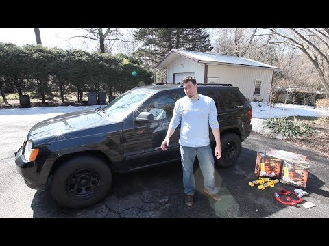 "HOW TO: Jeep Grand Cherokee OME 2"" HD Lift Kit Install (2005-2010 WK)"