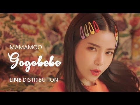 MAMAMOO 마마무 - GOGOBEBE 고고베베 | Line Distribution