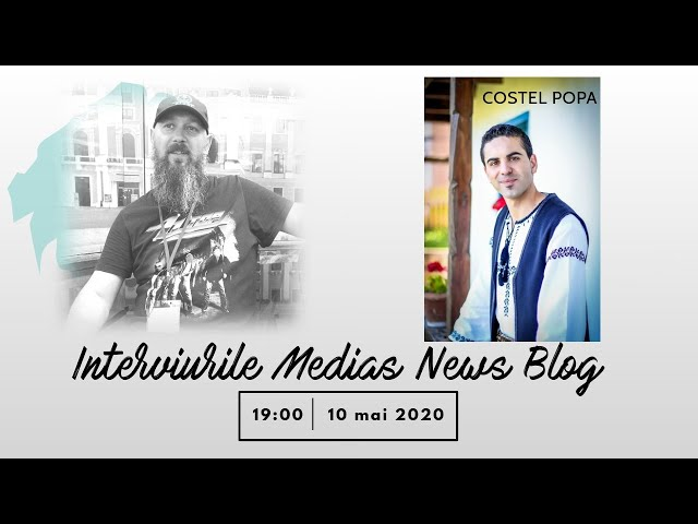 Costel Popa invitat la Interviurile Medias News