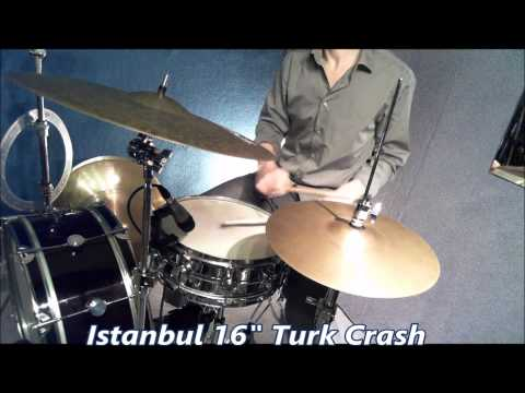 Cymbal demo - various Bosphorus, Zildjian, 5 star * Super Zyn, Istanbul and Stagg