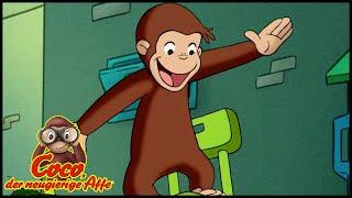 Coco der Neugierige Affe 🐵Ein Vogelscheuche 🐵Ganze Folgen Staffel 5 🐵Cartoons für Kinder