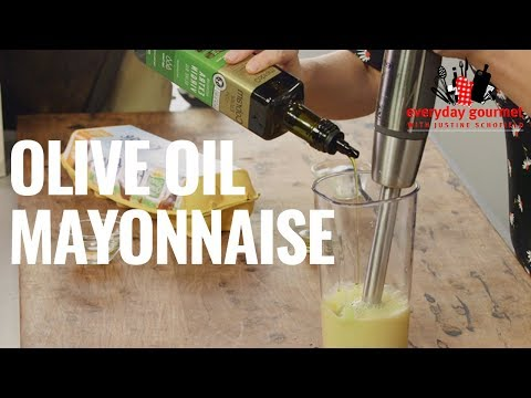 Extra Virgin Olive Oil Mayonnaise | Everyday Gourmet S8 E69