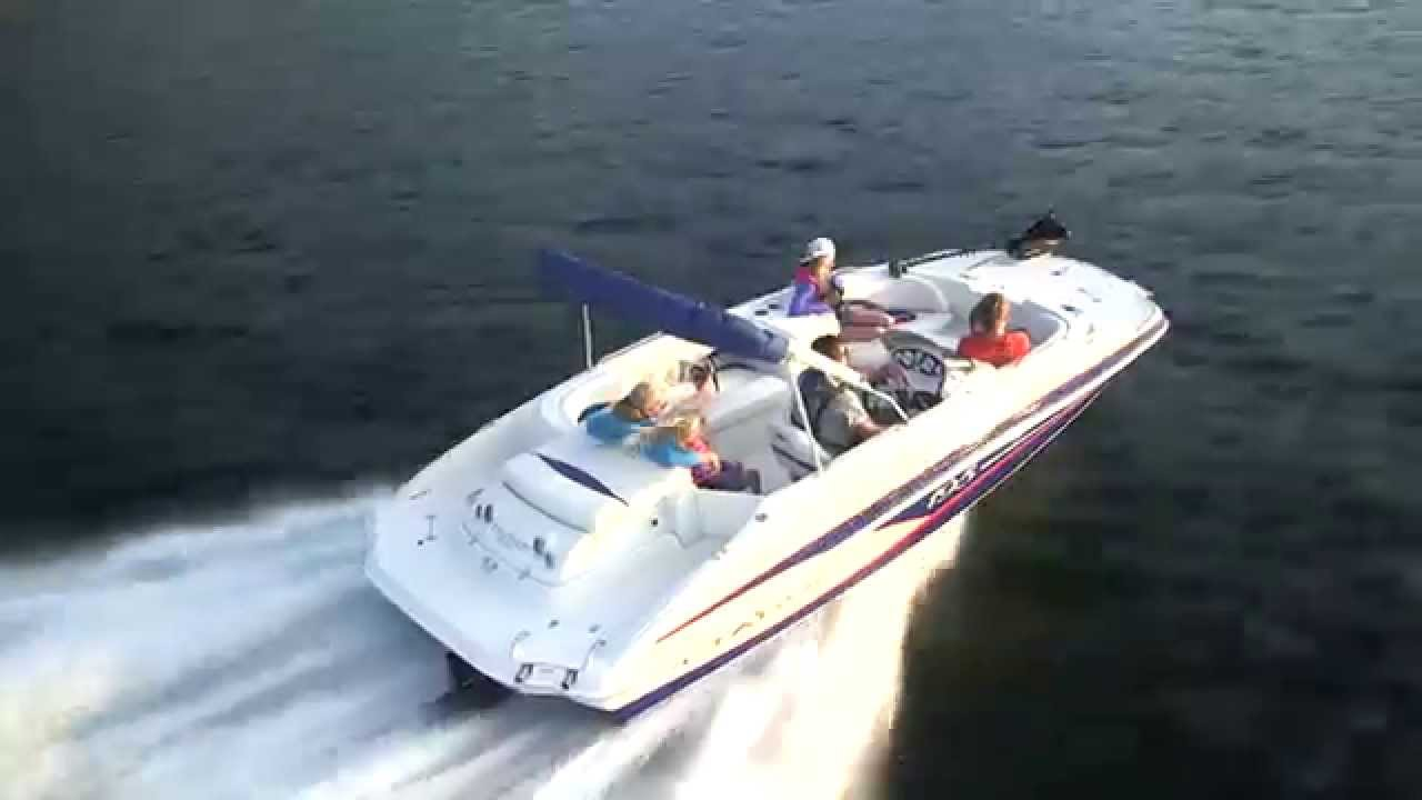 TAHOE Boats: 2015 195 Deck Boat - YouTube