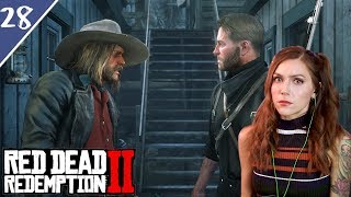 Breaking Out John, Meeting Cornwall and Starting a War | Red Dead Redemption 2 Pt. 28 | Marz Plays