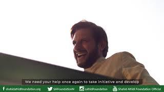 Creating Impact, Changing Lives | Shahid Afridi Foundation