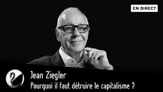 Jean Ziegler Pourquoi il faut détruire le capitalisme EN DIRECT