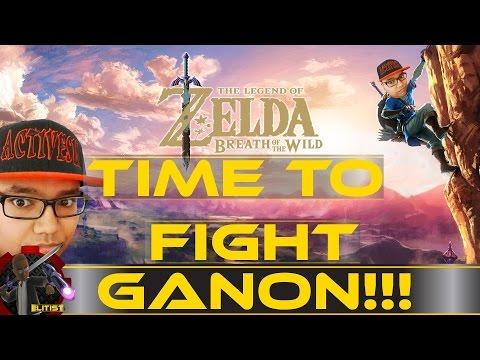 Ganon Boss Fight + Ending | Zelda Breath of the Wild