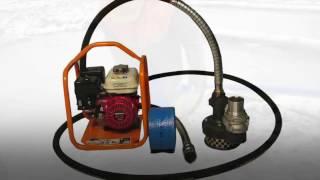 видео Мотопомпы для перекачки нефтепродуктов