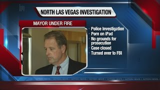 FBI investigating North Las Vegas mayor for porn