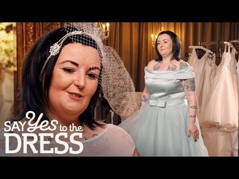 Will the Bride Choose a Teal Tea Length Dress?   Say Yes To The Dress Ireland
