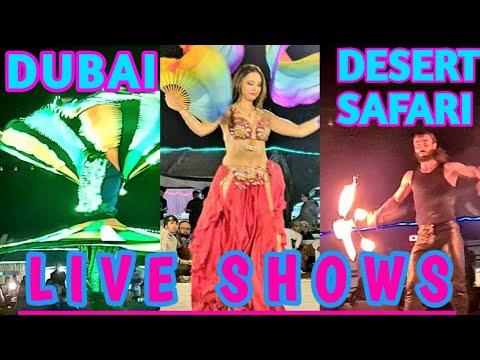 DUBAI DESERT SAFARI W/ BBQ DINNER & LIVE SHOWS l DECEMBER 2020