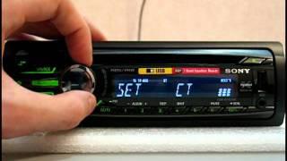 Відеоогляд автомагнітоли Sony CDX-GT457UE
