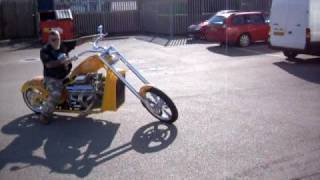 Thundercity V8 Chopper part 2