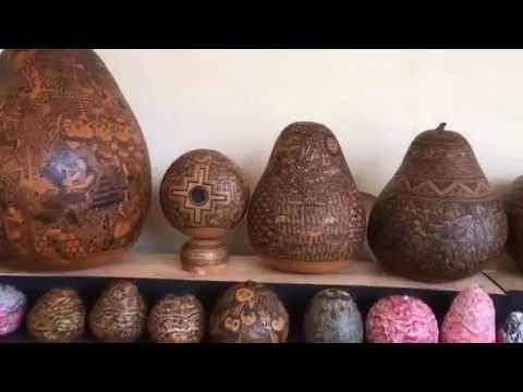 Inca Gourd Art