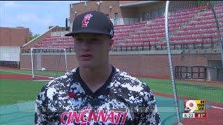University of Cincinnati ballplayer making history