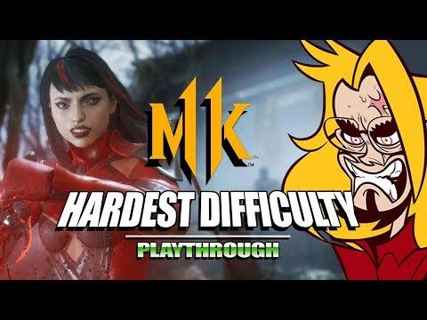 SKARLET SLICES 'EM UP: Mortal Kombat 11 - Very Hard Ladder (Stress Test) thumbnail